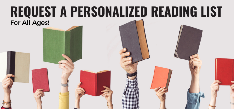 request a personalized reading list